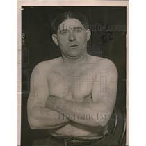 1921 Press Photo Harry Goodheart Brooklyn NY has donated 70 quarts of blood