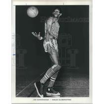 1970 Press Photo Harlem Globetrotter Joe Cunningham - orp12698