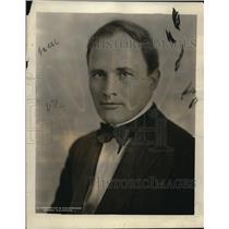 1921 Press Photo Dr Willys De Kerlor french psychologist