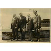 1922 Press Photo L E Sheppard W S Stone D B Robertson W N Doake Railroad Strike