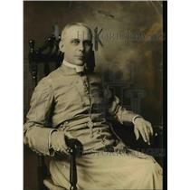 1918 Press Photo Bishop John N McCormick Head of Red Cross Chaplains in France
