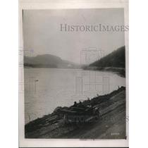 1920 Press Photo Road on Wenatcher National Forest in Wash