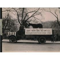 1920 Press Photo Washington Animal Rescue League Parade Humane Education Society