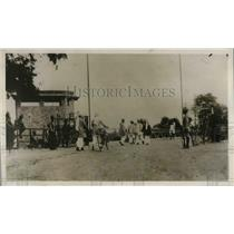 1930 Press Photo Guarding against Afridi attack in Peshawar
