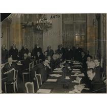 1919 Press Photo Internation Labour Legislatures at French Ministry