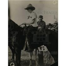 1923 Press Photo Inez Clampett of Dallas Texas as a cowbiy