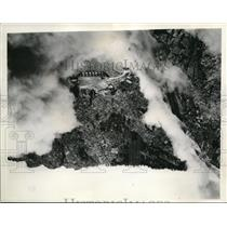 1936 Press Photo Seminoe Dam on North Platte River. Principal Structure of the