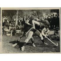 1926 Press Photo La crosse match Hurons vs Iriquois in Calif