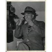 1938 Press Photo Lions coach Elmer Gloomy Gus Henderson - nes21725