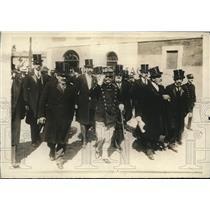 1918 Press Photo King of Italy