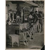 1920 Press Photo Knights of Columbus at St Elizabeth Hospital in Washington DC