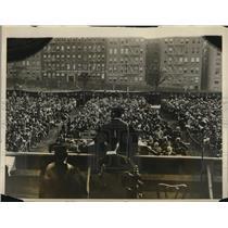 1928 Press Photo Dedication New York Medical Center, Dr. Samuel W. Lambert, Dean