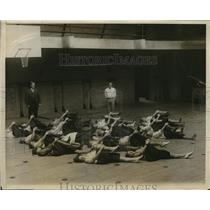 1926 Press Photo Ladies day at Municipal Gym