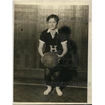 1927 Vintage Photo Guard Frances Holston Hunter College Basketball Team