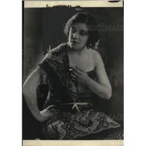 1922 Press Photo  Miss Jeanne Gordon Metropolital Opera singer