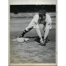 1933 Press Photo Johnny Kerr infielder of Washington Senators - nes22791