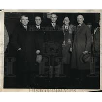 1932 Press Photo League of Nations Manchurian Commission in Pennsylvania