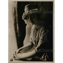 1919 Press Photo Miss Pessoa daughter of Brazilian president