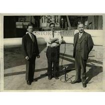 1930 Press Photo Washington DC, rubber plane by Wm. Grady, Taylor McDaniel and