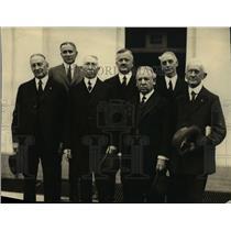 1922 Press Photo J. Foster Wilcox, Fred Taylor, Frank M. Goodchild, John M.