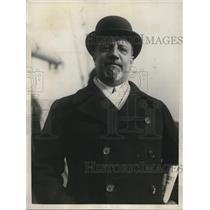 1925 Press Photo Count Giuseppe Volpi di Misurata, Italian Debt Commission