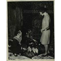 1929 Press Photo Chicago Flower Show