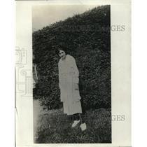 1922 Press Photo Klara Griffin Vail Medal Winner Of Genoso New York