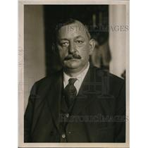 1919 Press Photo Jacob Fisher, Union secretary and American Federation of Labor