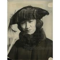 1922 Press Photo Moto-Ko Otani, came to America for school