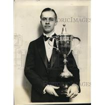 1928 Press Photo James R. Moore wins Fifth National Oratorical Contest