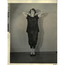 "1924 Press Photo ""Then again in your original position you are ready for more"""