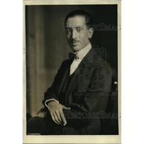 1923 Press Photo Baron Giovanni de Guira Italian Embassy in DC