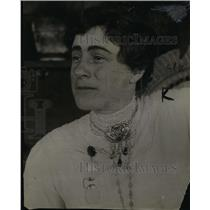 1913 Press Photo Dr. Jessica Perxitto