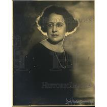 1922 Press Photo Rosalie Stewart Broadway producer