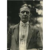 1922 Press Photo BM Jewell President of Railway Department arrived in Washington