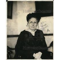 1921 Press Photo Mrs Rudolph Blankenburg Member of Committee Planning