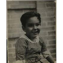 1925 Press Photo Rodolfo Gaona, Mexican Bullfighter as a Child