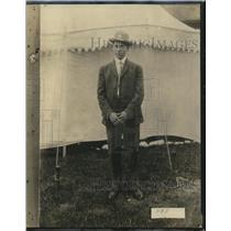 1924 Press Photo Guy Ward, Professional Champion of Birmingham, Alabama