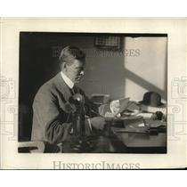 1918 Press Photo Alex White, head of Home Defense League