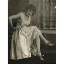 1922 Press Photo Mrs. Carl Linker of Washington D.C.