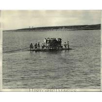1929 Press Photo Fernando Norenha at Jangata Island in South Pacific