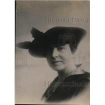 1919 Press Photo Zoe Beckley, New York World publisher