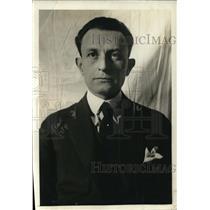 1920 Press Photo Roberto V Pesqueria NY finacial agent for Mexico