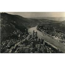1918 Press Photo Traben-Trarbach on the Rheim Germany