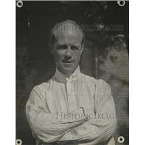 1918 Press Photo Poet Edmund V. Cooke