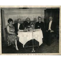1926 Press Photo Mrs. W.W. Fritzhugh, Rubbi Alexander, Mr. S. Parles