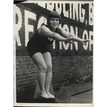 1923 Press Photo Florence Briscoe