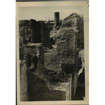 1918 Press Photo Ruins of Ancient Temple of El Sagilo