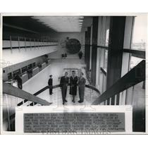 1957 Press Photo New Pavilion at New York International Airport