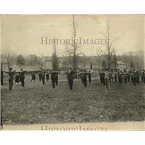 1920 Press Photo Washington volunteers at the training